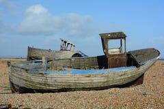 Zwei aufgegebene Boote lizenzfreie stockbilder