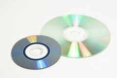 Zwei aufnahmefähige Platten Lizenzfreie Stockfotografie