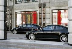 Zwei Autos Stockfoto