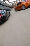 Zwei Autos Stockfotografie