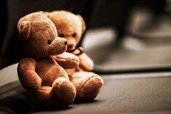 Zwei Bärnpuppen Lizenzfreies Stockfoto