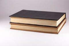 Zwei Bücher auf einem weißen Hintergrund, lizenzfreies stockbild