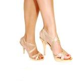 Zwei Beine in den Fersen. Lizenzfreie Stockfotografie