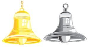Zwei Bell Lizenzfreie Stockfotografie
