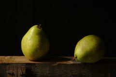 Zwei Birnen Lizenzfreies Stockbild