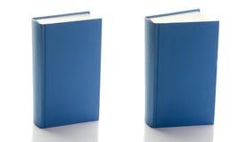 Zwei blaue Bücher Stockfotografie