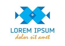 Zwei blaue Fische Lizenzfreie Stockfotografie