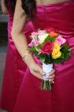 Zwei Brautjunfern Stockbild