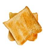 Zwei Brotscheibetoast Lizenzfreie Stockfotografie
