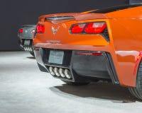 Zwei 2015 Chevrolet Korvetten Lizenzfreie Stockbilder