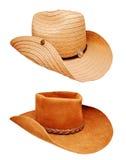 Zwei Cowboyhut Lizenzfreies Stockfoto