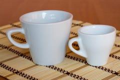 Zwei Cup Stockbilder