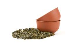 Zwei Cup und Tee Lizenzfreies Stockfoto
