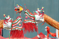 Zwei Drachen spielen Korn Lizenzfreies Stockfoto