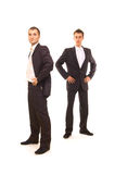 Zwei erfolgreiche Geschäftsmänner Lizenzfreie Stockfotografie