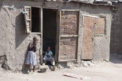 Zwei ethnische Kinder Stockfotos