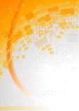 Zwei-farbiger Hintergrund Lizenzfreie Abbildung