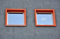 Zwei Fenster Lizenzfreies Stockbild