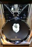 Zwei fertiger Druckjob des Druckers des Fadens 3D Nachdrucktechnologie Stockbild