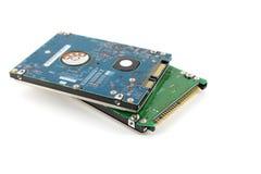 Zwei Festplattenlaufwerke (HDD) Lizenzfreie Stockfotografie