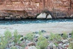 Zwei Flüsse in einem Stockbilder