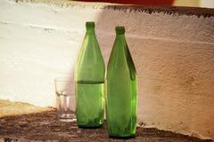Zwei Flaschen Lizenzfreie Stockbilder