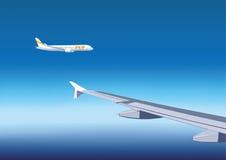 Zwei Flugzeuge Lizenzfreie Abbildung