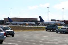 Zwei Flugzeuge betriebsbereit zu gehen! Lizenzfreie Stockfotografie