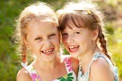 Zwei Freundinnen Lizenzfreie Stockfotos