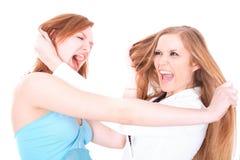 Zwei Freundinnen Stockfoto
