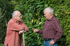 Zwei Gärtner Stockfotografie