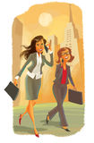 Zwei Geschäftsfrauen Stockbilder