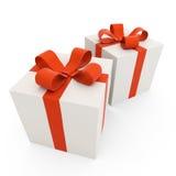 Zwei Geschenke Lizenzfreie Stockfotos