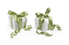 Zwei Geschenke Stockfotografie