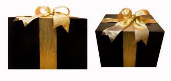 Zwei Geschenke Stockbild