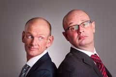 Zwei Geschäftsmänner Stockbild