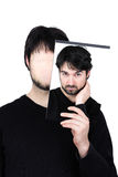 Zwei Gesichter - durchdacht Lizenzfreie Stockfotos