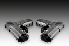 Zwei Gewehren Stockfotografie
