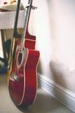 Zwei Gitarren stockfotos