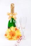 Zwei Gläser Champagner Lizenzfreie Stockfotografie