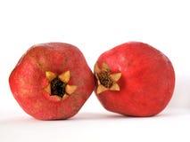 Zwei Granatäpfel Lizenzfreies Stockbild