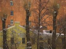 Zwei Häuser Lizenzfreie Stockbilder