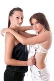 Zwei hübsche Frauen Lizenzfreies Stockfoto