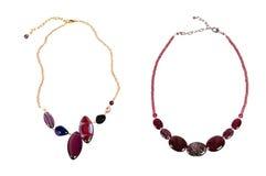Zwei Halsketten Lizenzfreie Stockbilder