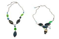 Zwei Halsketten Lizenzfreies Stockbild