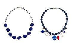 Zwei Halsketten Stockfotografie