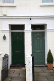 Zwei Haustüren Lizenzfreie Stockfotografie
