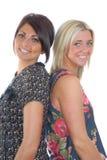 Zwei hübsche Mädchen Stockbilder
