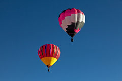 Zwei Heißluft-Ballone Lizenzfreies Stockbild