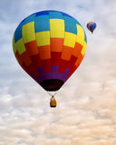 Zwei Heißluft-Ballone Lizenzfreie Stockfotos